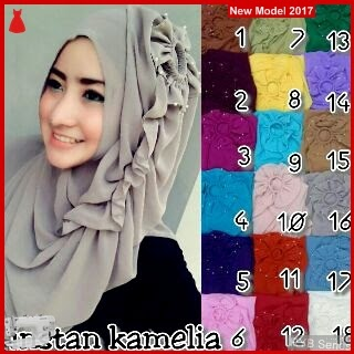 RYB043B Hijab Syar Cantik i Murah Instant BMG Online Shop