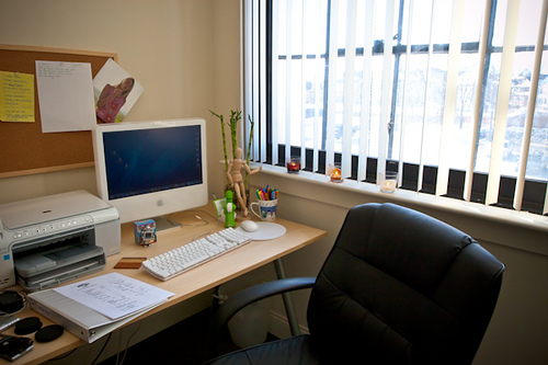 Intern Workstation in Home Office