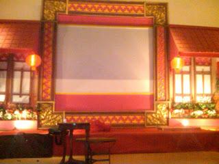 Dekorasi Backdrop acara imlek gong xi fat choi