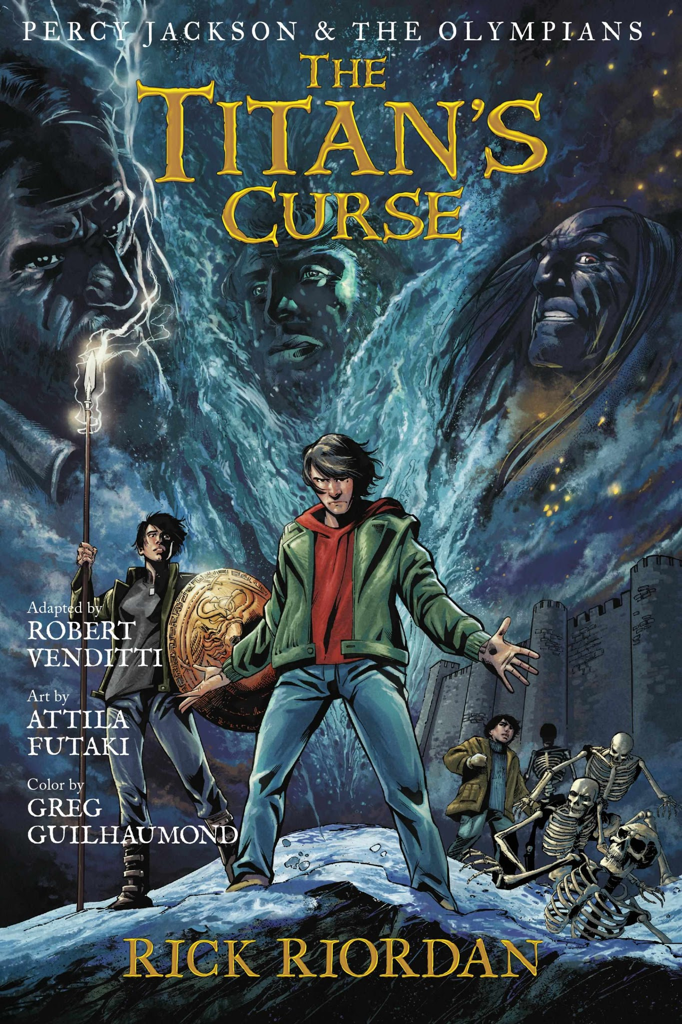 Percy Jackson And The Olympians Tpb 3
