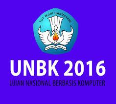 UNBK 2016 Libatkan 4 Perguruan Tinggi
