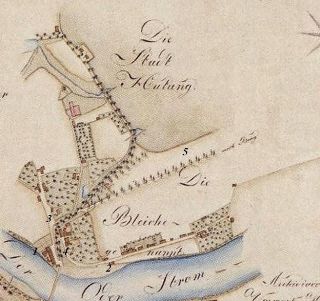 Zaodrze Opole - mapa