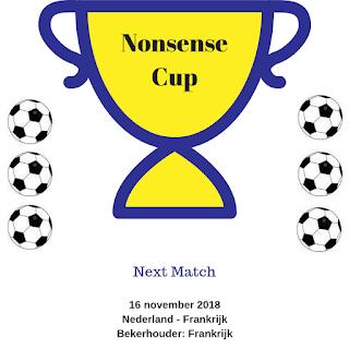 Nonsense Cup: Nederland - Frankrijk