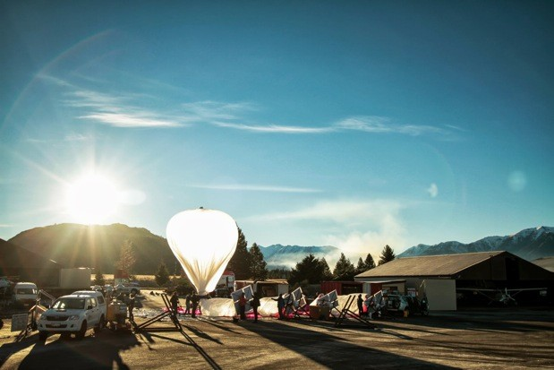 Project Loon - Google's Wi-Fi balloon experiment
