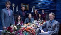 Hannibal (NBC) Hugh Dancy Mads Mikkelsen Laurence Fishburne Gina Torres Gillian Anderson The X-Files