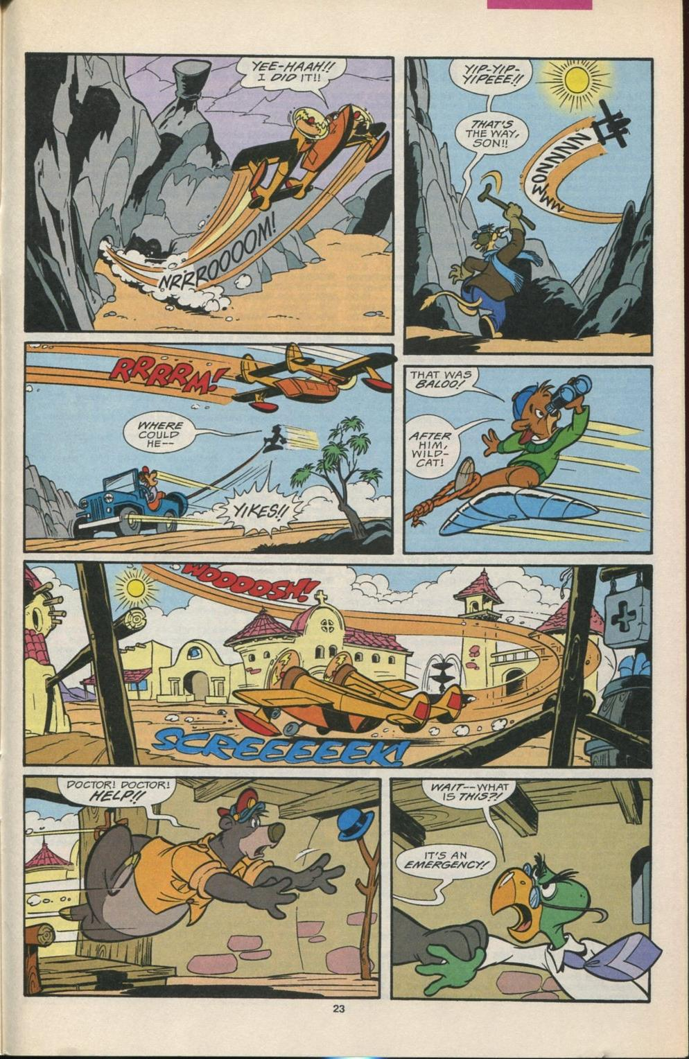 Read online Disney's Tale Spin comic -  Issue #5 - 24