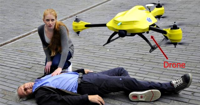 Drone socorro