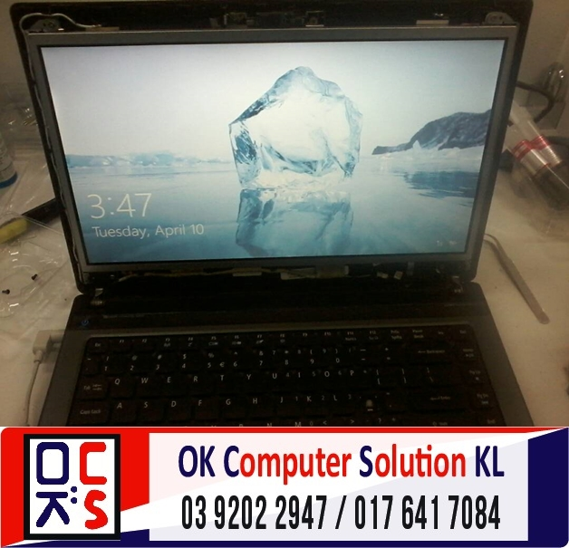 [SOLVED] SKRIN ACER ASPIRE 4750 CRACK | REPAIR LAPTOP CHERAS 6