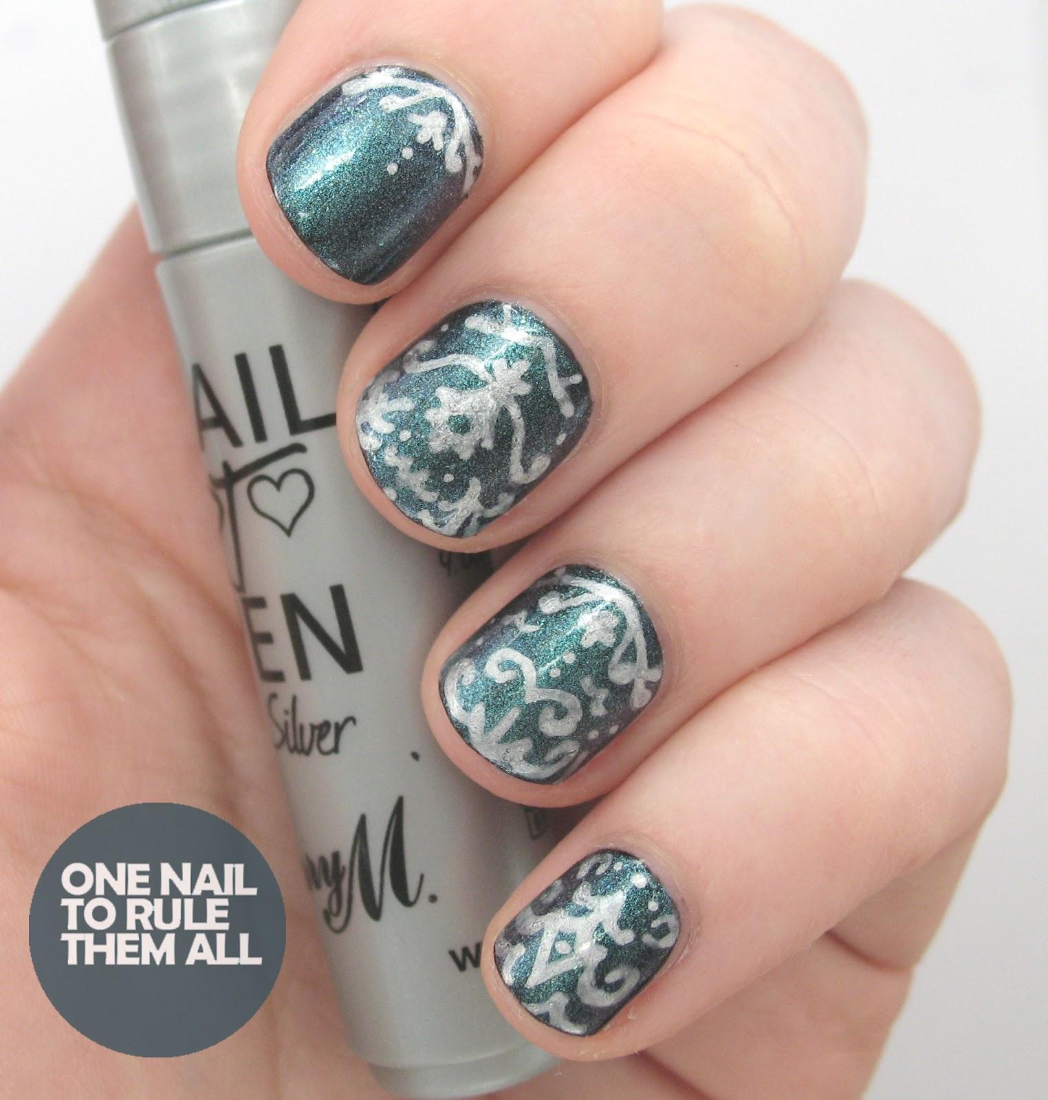 Pen For Nail Art Designs | Splendid Wedding Company