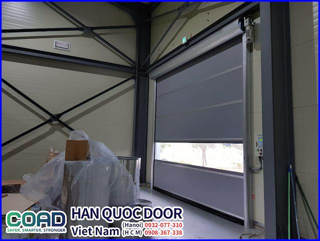 Cửa cuốn công nghiệp, cửa cuốn nhanh, cửa đóng mở nhanh, High speed door, COAD
