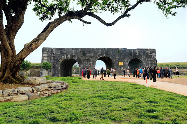 Citadel of the Hồ Dynasty opens for free during Tet