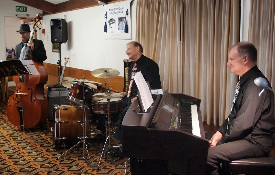 Our Special Guest Artists for our October 2014 Club Night - The Dave Hallam Trio