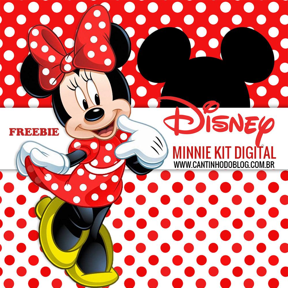 Kit digital minnie vermelha free cantinho do blog - Le blog de mimi ...