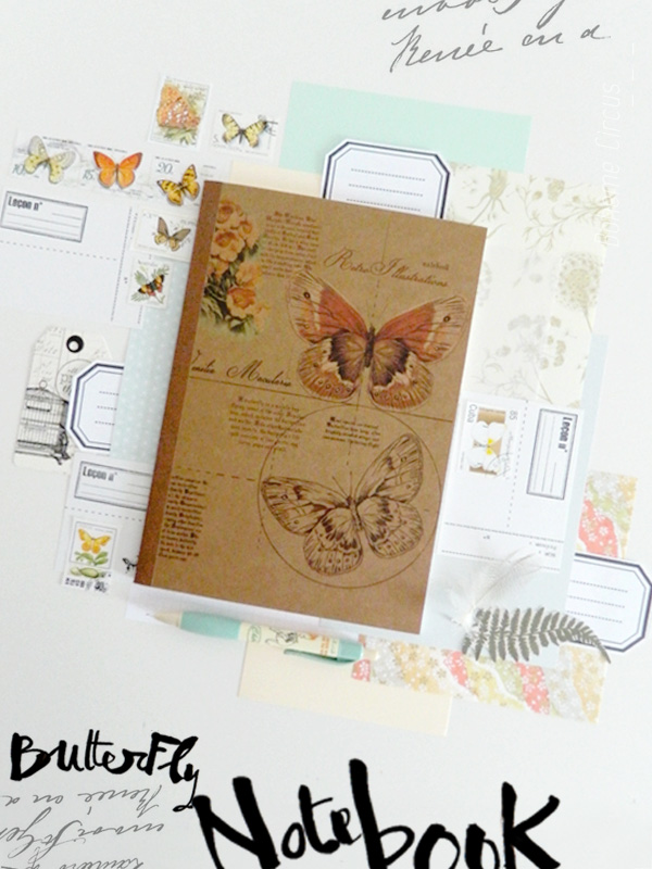 inspiration  - creativity - collages - bohème circus - carnet - notebook