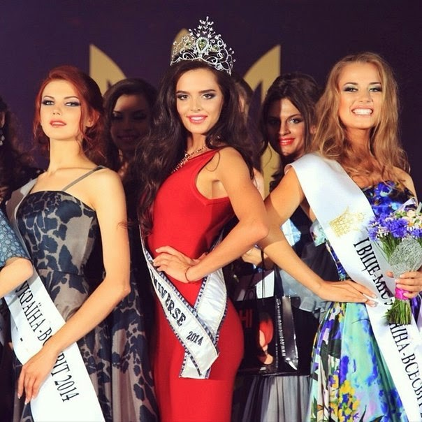 Critical Beauty: Miss Ukraine Universe 2014