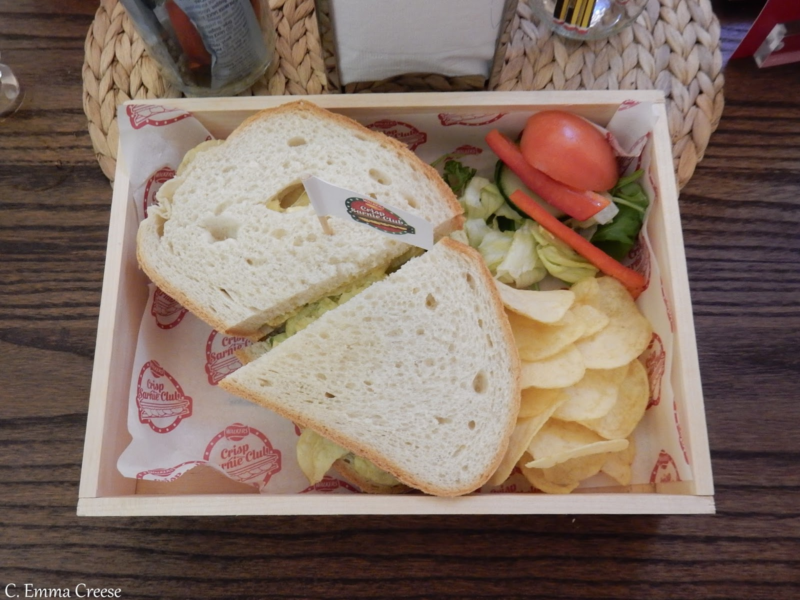 "Crisp Sarnie Cafe Popup, London Bridge ""Review"" Adventures of a London Kiwi"