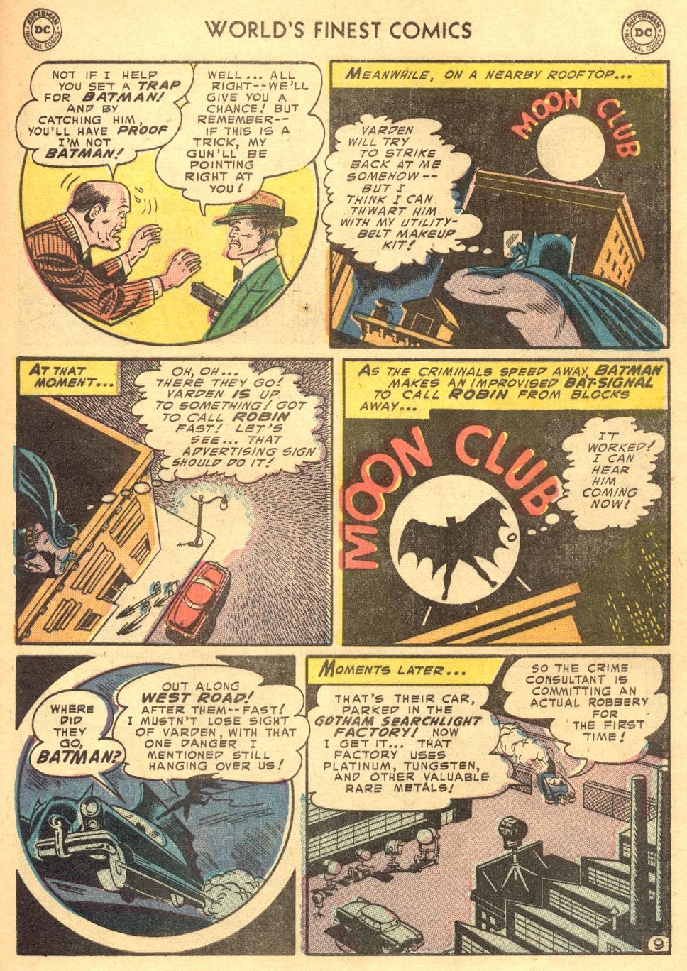 Read online World's Finest Comics comic -  Issue #70 - 63