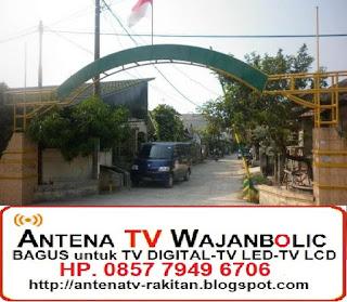 Jual ANTENA TV WAJANBOLIC Telaga Murni Cibitung
