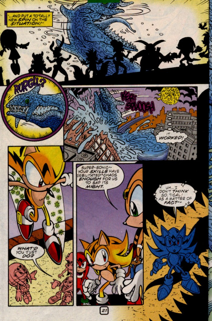 Read online Sonic The Hedgehog comic -  Issue #83 - 22