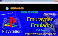 Emulator of PS1 Emurayden