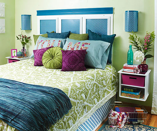 Home Furniture Ideas 2013 Diy Bedroom Update From Bhg