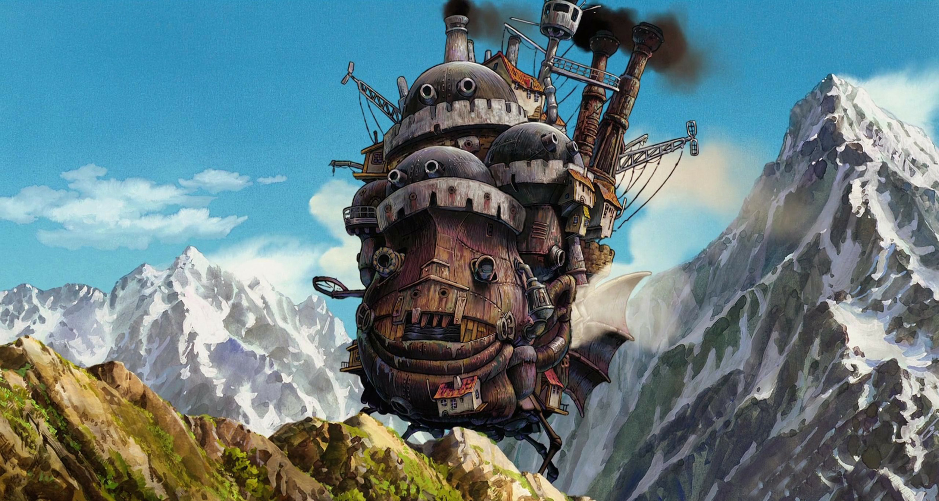 Howl`s Moving Castle Animated Wallpaper - Animated Live ...
