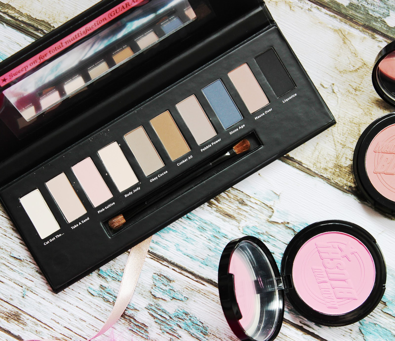 Soap & Glory Ultimatte Collection eye shadow palette review