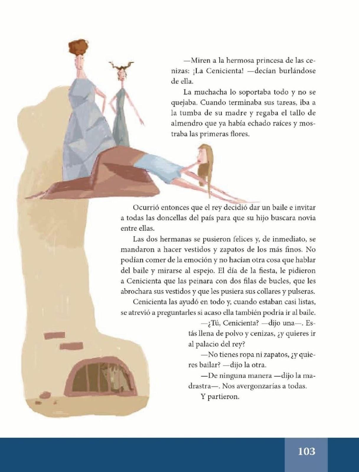 La cenicienta espa ol lecturas sexto grado apoyo for Espanol lecturas cuarto grado 1993