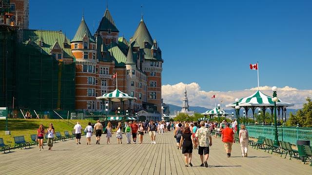 Como andar em Quebec