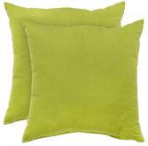 Greendale Home Fashions Indoor/Outdoor Accent Pillows, Kiwi