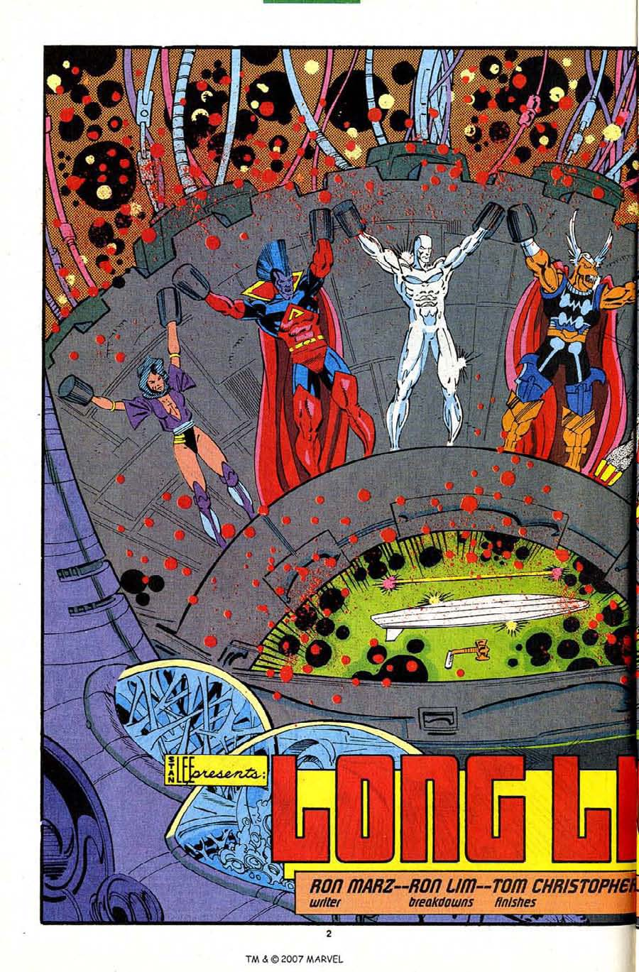 Read online Silver Surfer (1987) comic -  Issue #82 - 4