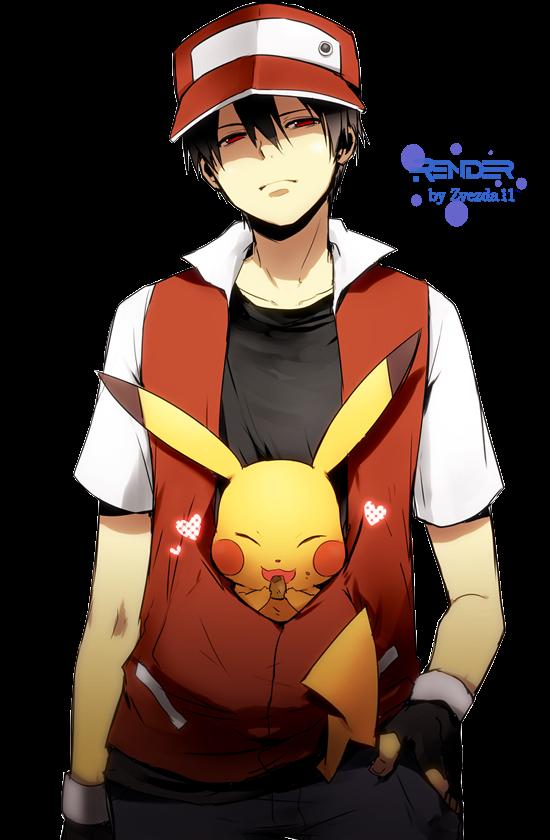 Render Red + Pikachu