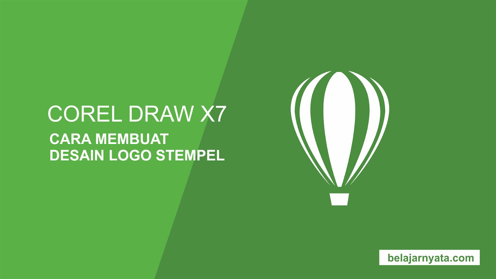 41 Koleksi Foto Desain Logo Dengan Corel Draw X7 Terbaik