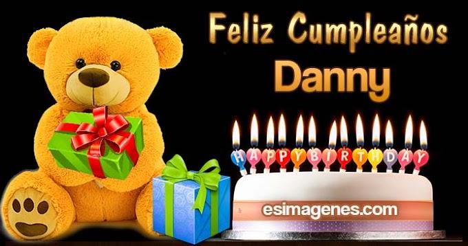 Feliz cumpleaños Danny