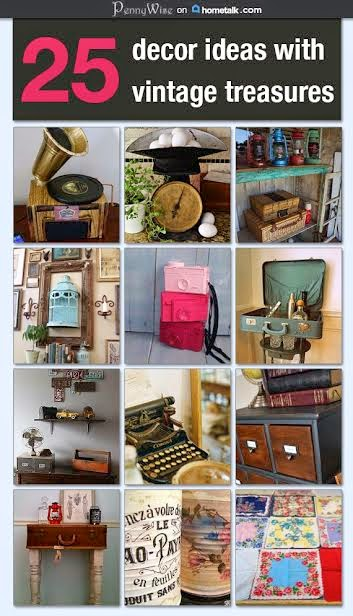 Vintage Decor on HOMETALK