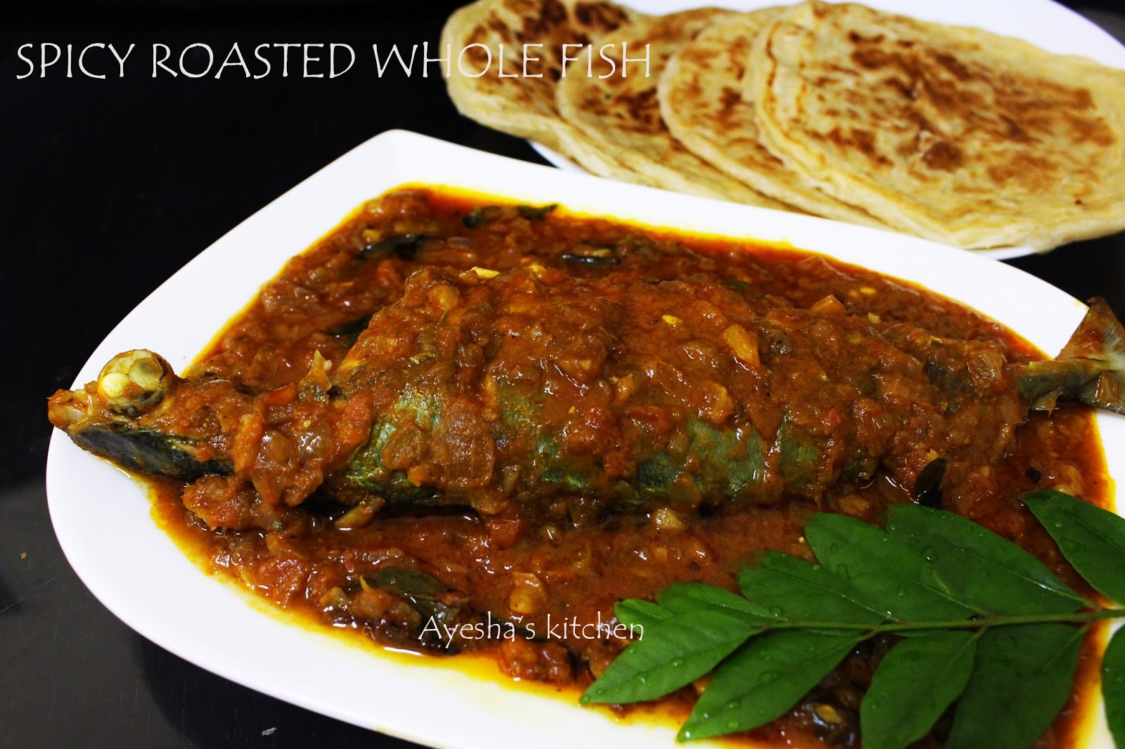 Spicy fish recipe roasted whole fish recipe restaurant for Whole fish recipes