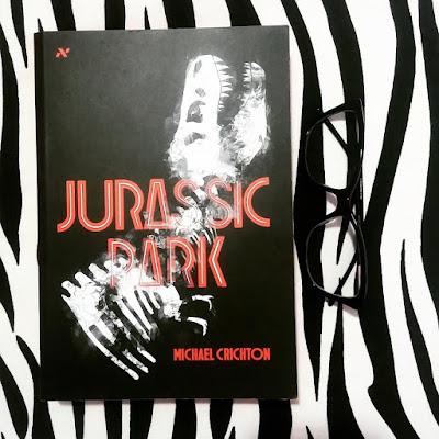 livro jurassic park, de michael crichton