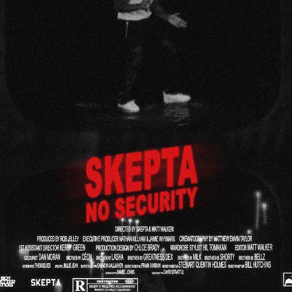 Skepta - No Security - Single Cover