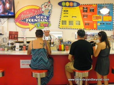 Margie D's Soda Fountain in Dellas 5 & 10 in Cape May, New Jersey