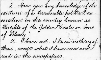 Civil War Medicine (and Writing): Knights of the Golden