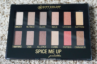 City Color Cosmetics Spice Me Up Palette