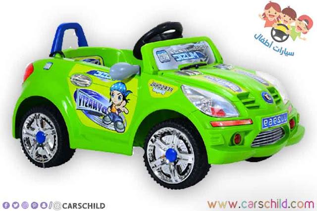 سيارة كهربائية خاصة بالأطفال صغار السن