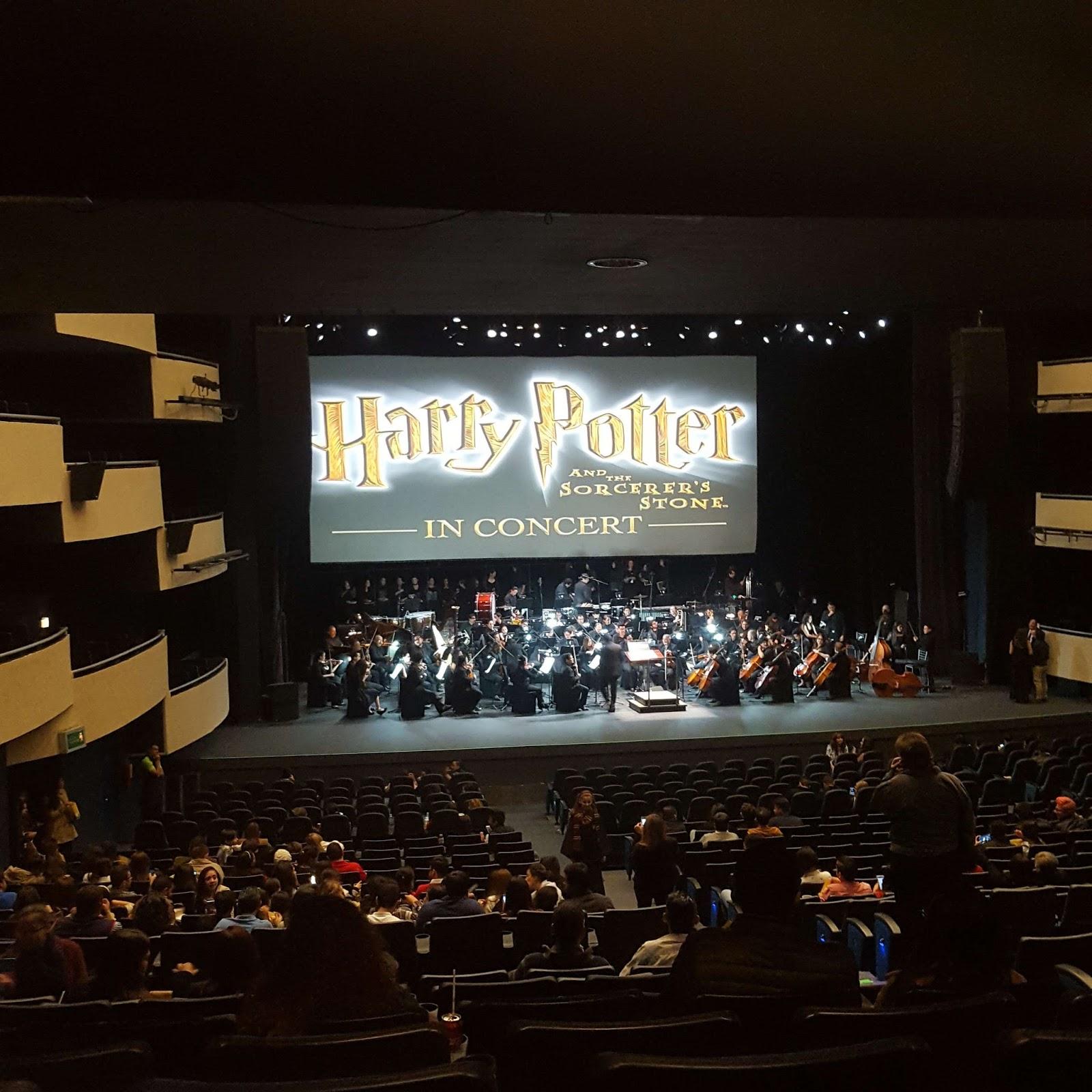Experiencia en el concierto Harry Potter y La Piedra Filosofal