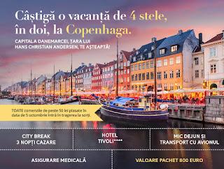 Intra si castiga o vacanta in 2 la Copenhaga