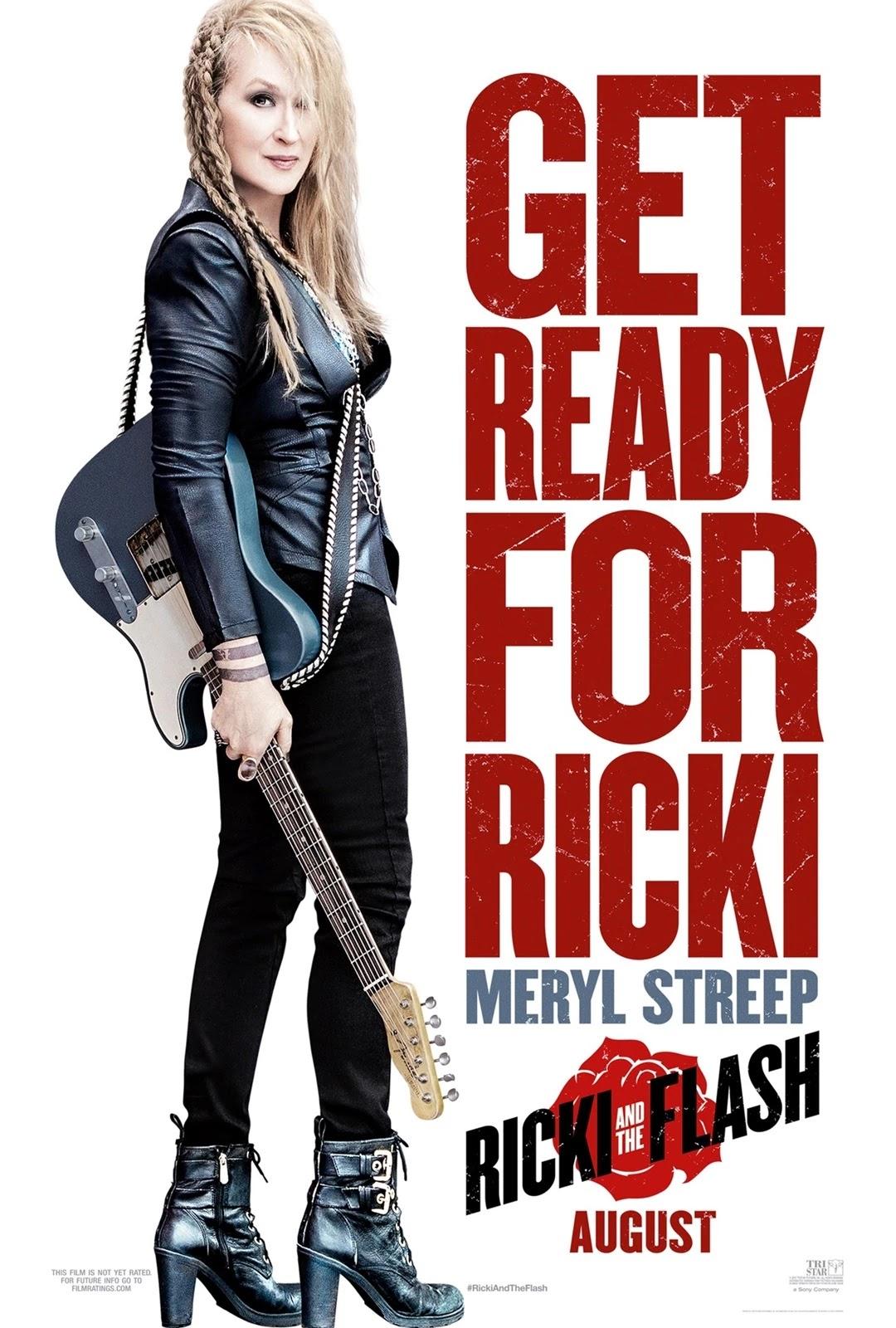 搖滾女王,Ricki and the Flash,搖滾星媽,瑞奇和闪电