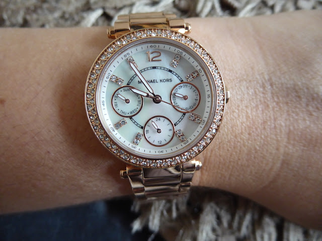 Michael Kors Rose Gold Watch Review From Plus Watches ...