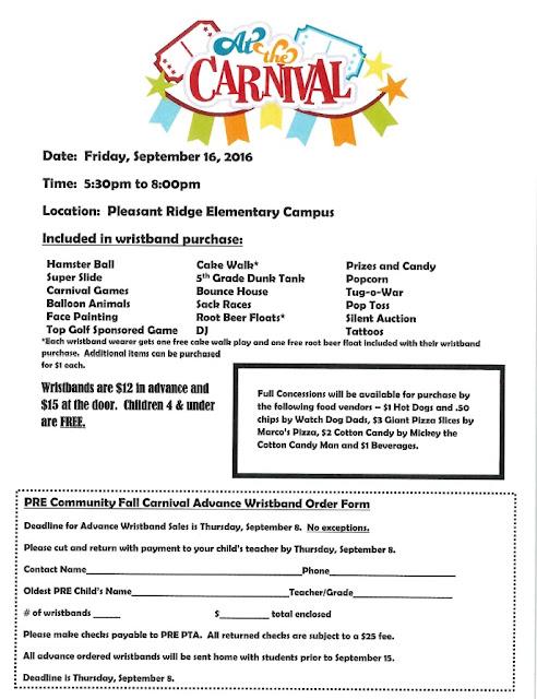 Pleasant Ridge Elementary: PTA Carnival