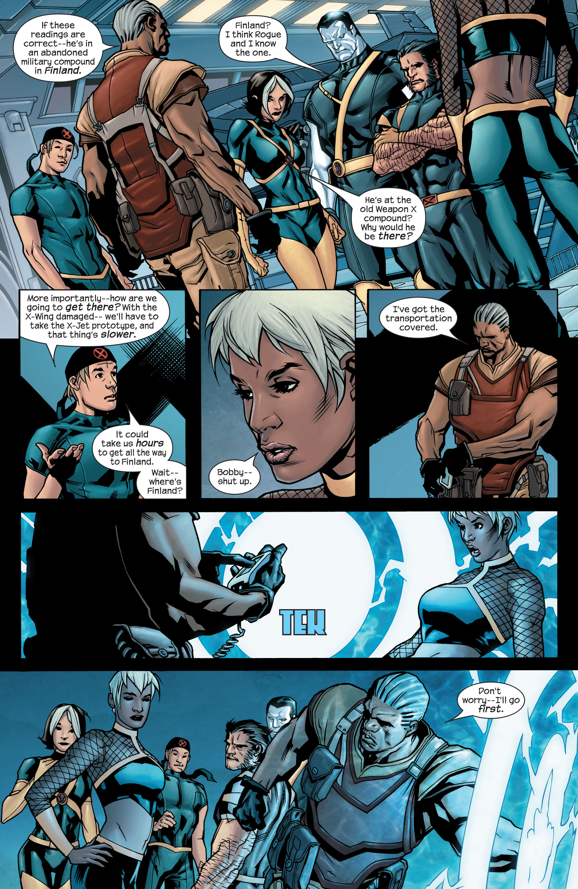 Read online Ultimate X-Men comic -  Issue #77 - 10