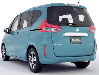 2016 Honda Freed MPV back view