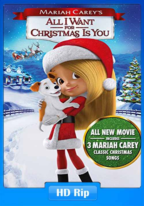 All I Want for Christmas Is You 2017 480p WEB-DL 300MB x264 Poster